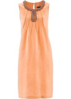 Льняное платье ПРЕМИУМ (натуральный камень) Bonprix