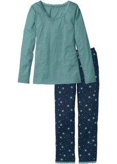 Пижама (нежно-розовый/дымчато-серый с ) Bonprix
