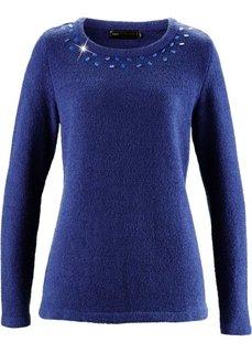 Пуловер (черный) Bonprix
