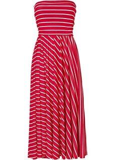 Платье (темно-синий/белый в поперечную) Bonprix