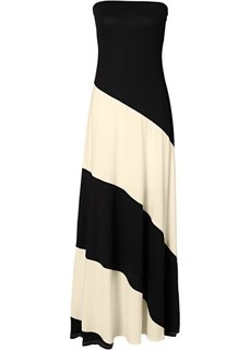 Платье (синий океан/бежевый) Bonprix