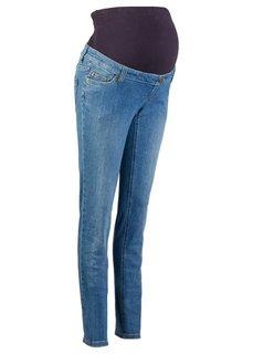 Мода для будущих мам: джинсы-скинни (темный деним) Bonprix