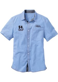 Рубашка (коралловый в клетку) Bonprix