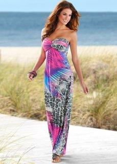 Макси-платье (ярко-розовый) Bonprix