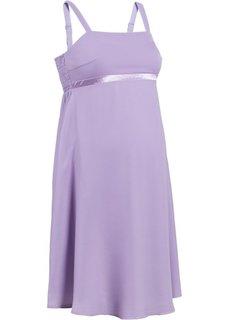 Праздничная мода для беременных: свадебное платье (белый) Bonprix