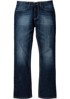 Джинсы Regular Fit Bootcut, cредний рост (N) (голубой «потертый») Bonprix
