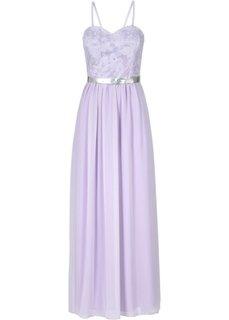 Платье (белый/золотистый) Bonprix