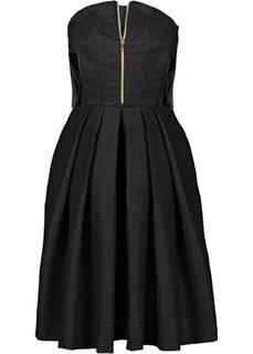 Корсажное платье от Marcell von Berlin for bonprix (каменно-бежевый)