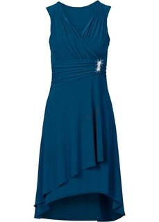 Платье с аппликацией (черный) Bonprix