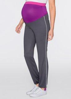 Для будущих мам: спортивные легинсы (шиферно-серый) Bonprix