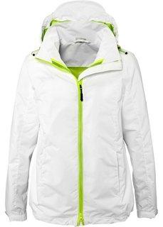 Функциональная куртка 3 в 1 (темно-синий/нефритовый) Bonprix