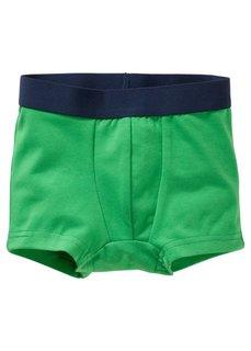 Трусы-боксеры (3 шт.), Размеры  92/98-152/158 (темно-синий/зеленый/белый) Bonprix