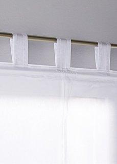 Римская штора Кружево, петли (белый) Bonprix