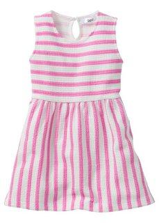 Платье, Размеры 80-134 (желтый тюльпан/белый в полоску) Bonprix