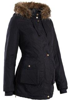 Мода для беременных: куртка с капюшоном (темно-оливковый) Bonprix