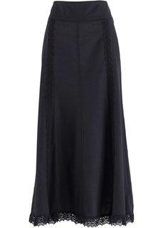 Длинная юбка (лососевый) Bonprix