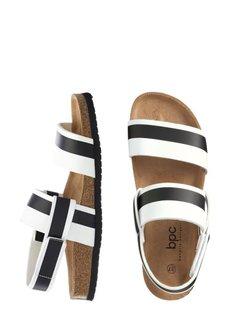 Пантолеты (черный/белый) Bonprix