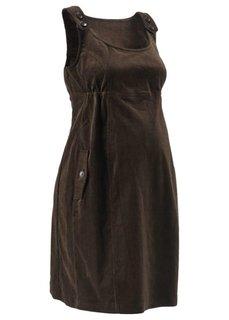 Вельветовое платье (черный) Bonprix