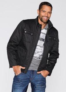 Куртка Slim Fit (черный) Bonprix
