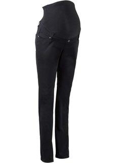 Мода для беременных: брюки с узкими брючинами, cредний рост (N) (серо-коричневый) Bonprix