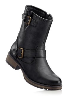 Байкерские ботинки (коричневый) Bonprix