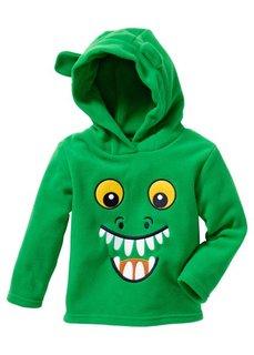 Флисовый пуловер (нежно-лиловый с совой) Bonprix