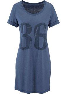 Трикотажное платье (светло-серый меланж) Bonprix