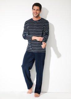 Пижама (темно-синий/серый) Bonprix