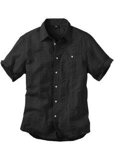 Рубашка Regular Fit из материала сирсакер (нежно-голубой) Bonprix