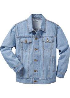 Джинсовая куртка Regular Fit (темно-синий «потертый») Bonprix