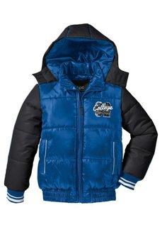 Зимняя куртка (черный/зеленый неон) Bonprix