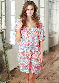 Ночная рубашка (различные расцветки с узором) Bonprix