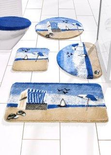 Коврик для ванной Море (синий) Bonprix