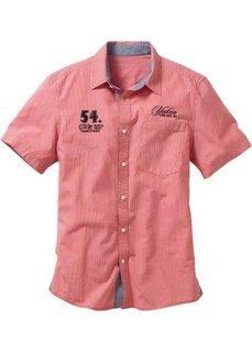Рубашка (голубой в клетку) Bonprix