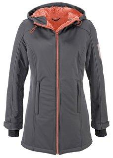 Функциональная куртка-зофтшелл (темно-синий) Bonprix