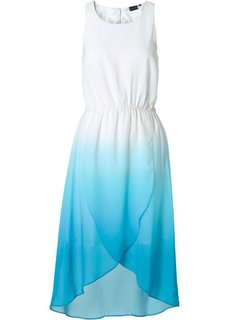 Платье (белый/клубничный) Bonprix