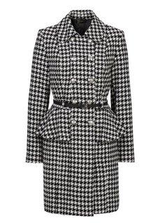 Пальто с баской (оливковый) Bonprix