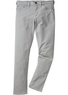 Брюки-стретч Slim Fit Straight, низкий + высокий рост (U + S) (нейтрально-серый) Bonprix