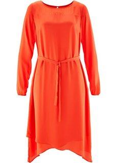Шифоновое платье (зеленый хаки) Bonprix