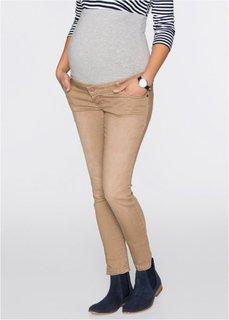 Для будущих мам: очень эластичные джинсы Skinny (хаки) Bonprix