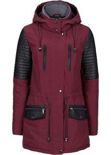 Куртка-парка (черный/черный) Bonprix