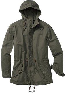 Куртка-парка Regular Fit (темно-коричневый) Bonprix