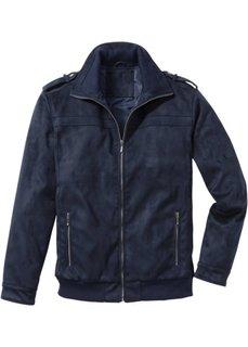 Куртка-бомбер Regular Fit из искусственной кожи (коньячный) Bonprix