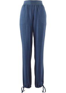 Широкие брюки (темно-оливковый) Bonprix