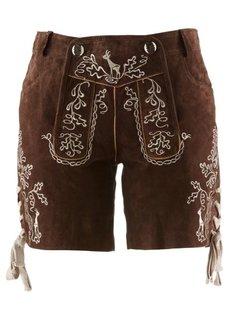 Кожаные шорты (светло-коричневый) Bonprix