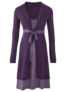Платье (коричневый/бежевый) Bonprix