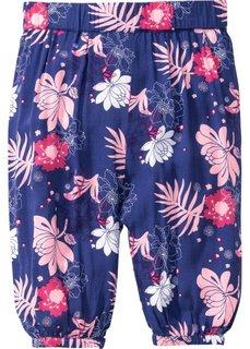 Мода для малышей: брюки-шаровары, Размеры  68/74-104/110 (сапфирно-синий с рисунком) Bonprix
