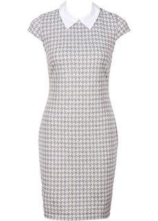 Платье (нежно-розовый/белый) Bonprix