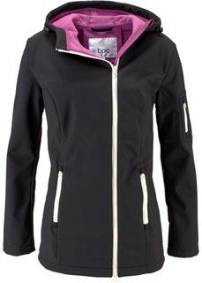 Куртка-софтшелл (ежевичный матовый) Bonprix