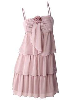 Платье (светло-коричневый) Bonprix